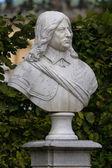 Marble bust of Frederick William, Elector of Brandenburg. Sanssouci. Podsdam. Germany — Stock Photo