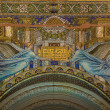 Ceiling mosaic. Kaiser Wilhelm Memorial Church. Berlin — Stock Photo