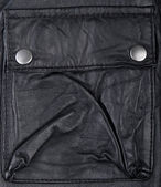 Leather pocket. — Stock Photo