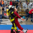 Stock Photo: Sixth Firefighter Challeng. Match fire brigades