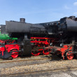 Various steam locomotive — Stock Photo