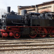 Stock Photo: Steam locomotive Borsig 9525