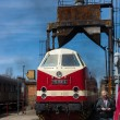 "Stock Photo: Diesel locomotive DR Class 119 (""23rd August"" Bucharest Locomotive Works)"
