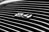 BERLIN, GERMANY - MAY 11: Air vents the engine compartment Porsc — Stock Photo