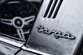 BERLIN, GERMANY - MAY 11: Detail of the Porsche 911 Targa 2,4 T — Stock Photo