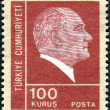 TURKEY - CIRC1972: postage stamp printed in Turkey shows the — Stock Photo #26029407