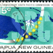 Stock Photo: PAPUNEW GUINE- CIRC1973: postage stamp printed in Papua