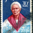PHILIPPINES - CIRCA 1969: A stamp printed in the Philippines, shows a national hero Melchora Aquino de Ramos, circa 1969 — Stock Photo #26041881