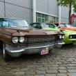 BERLIN - MAY 11: Cadillac de Ville, Dodge Challenger and Chevrol — Foto Stock