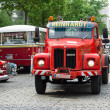 BERLIN - MAY 11: Truck Scania L110, 26. Oldtimer-Tage Berlin-Bra — Foto Stock