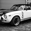 Постер, плакат: BERLIN MAY 11: Sports car Fiat 124 Spider the team Tag Heuer
