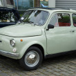 BERLIN - MAY 11: Small car FIAT 500 R, 26. Oldtimer-Tage Berlin- — Foto de Stock