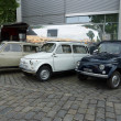 Постер, плакат: BERLIN MAY 11: Compact cars FIAT Fiat 500 R and 500 F or Berli