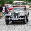 BERLIN - MAY 11: Jaguar SS-100 roadster, 26. Oldtimer-Tage Berli - Foto de Stock