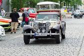 Berlín - 11 května: jaguar ss-100 roadster, 26. oldtimer-tage berli — Stock fotografie
