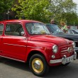 Stock Photo: BERLIN - MAY 11: city car Fiat 600 Seicento, 26th Oldtimer-T