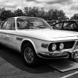 Постер, плакат: BERLIN MAY 11: Car BMW New Six CS black and white 26th Oldt