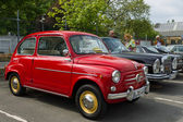 BERLIN - MAY 11: The city car Fiat 600 Seicento, 26th Oldtimer-T — Stok fotoğraf