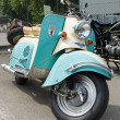 Постер, плакат: BERLIN MAY 11: IWL motor scooters SR 59 Berlin 26th Oldtimer