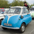 Stock Photo: BERLIN - MAY 11: Microcar BMW Isett300, 26th Oldtimer-Tage Ber