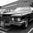 BERLIN - MAY 11: Car Cadillac Coupe de Ville (black and white), — Stock Photo