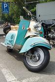 BERLIN - MAY 11: IWL motor scooters SR 59 Berlin, 26th Oldtimer- — ストック写真