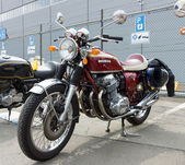BERLIN - MAY 11: Motorcycle Honda CB750 Four, 26th Oldtimer-Tage — Stock Photo