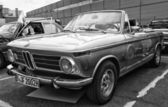 BERLIN - MAY 11: Car BMW 1600 Cabriolet (black and white), 26th — Stock Photo