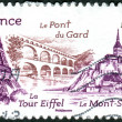 FRANCE - CIRCA 2012: Postage stamp printed in France shows the s — Stock Photo #26907803