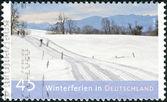Duitsland - circa 2012: postzegels gedrukt in Duitsland, dedicat — Stockfoto