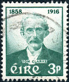 IRELAND - CIRCA 1958: A postage stamp printed in Ireland, dedica — Stock Photo