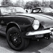BERLIN - MAY 11: Car Triumph GT6, black and white, 26th Oldtimer — Stock Photo