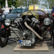 BERLIN - MAY 11: Car Morgan Super Sports, V-Twin three-wheelers, — Stock Photo
