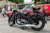 BERLIN - MAY 11: Motorcycle EMW R35, 26th Oldtimer-Tage Berlin-B — Stok fotoğraf