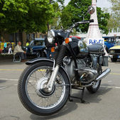 BERLIN - MAY 11: Motorcycle BMW R75-5, 26th Oldtimer-Tage Berlin — Stock Photo