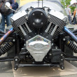 Stock Photo: BERLIN - MAY 11: Motor Vehicle Morg3 close-up, V-Twin three-w