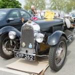 Постер, плакат: BERLIN MAY 11: Car Morgan F Series three wheelers 26th Oldti