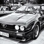 Постер, плакат: Car Alfa Romeo GTV6