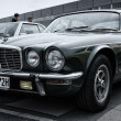 Stock Photo: BERLIN - MAY 11: Car Jaguar XJ12 (toning), 26th Oldtimer-Tage Be