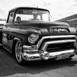 Stock Photo: BERLIN - MAY 11: Car GMC Deluxe Cab Pickup Truck 350 V8 TH350 (b