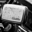 BERLIN - MAY 11: Rearview Mirror Car Cadillac Coupe de Ville (bl — Stock Photo
