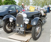 BERLIN - MAY 11: Car Morgan, F-Series three-wheelers, 26th Oldti — Stock Photo