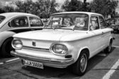 BERLIN - MAY 11: Car NSU 1000, (black and white), 26th Oldtimer- — Stock Photo
