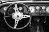 Fahrerhaus morgan plus 4 — Stockfoto