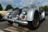 BERLIN - MAY 11: Car Morgan Plus 4, front view, 26th Oldtimer-Ta — 图库照片