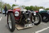 BERLIN - MAY 11: Car Morgan, V-Twin three-wheelers, 26th Oldtime — Stock Photo