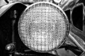 Berlin - 11 maja: reflektor samochodowy morgan super trzy sportowe, v-twin- — Zdjęcie stockowe