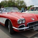 BERLIN - MAY 11: Sport car Chevrolet Corvette (C1), 26th Oldtime — Stock Photo #27469355