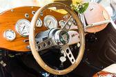 BERLIN - MAY 11: Cab car Jaguar SS-100 roadster, 26th Oldtimer-T — 图库照片