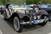 BERLIN - MAY 11: Jaguar SS-100 roadster, 26. Oldtimer-Tage Berlin-Brandenburg, May 11, 2013 Berlin, Germany — Foto Stock